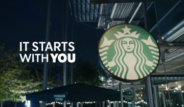 """THE QUEEN – STARBUCKS """"IT STARTS WITH YOU"""""""