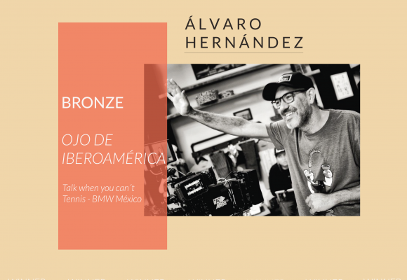 "Álvaro Hernández Winner of Bronze at the ""Ojo de Iberoamérica Festival"""